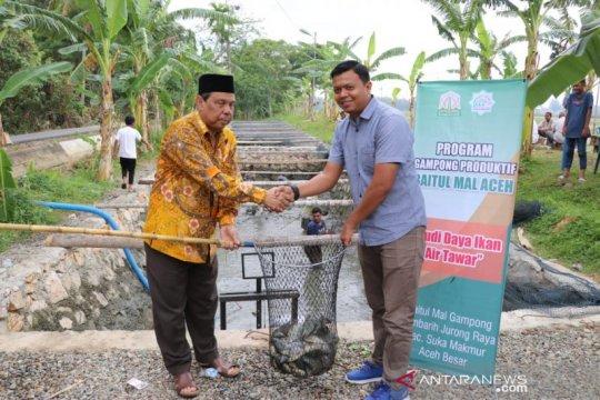 Baitul Mal Aceh salurkan dana pemberdayaan ekonomi masyarakat
