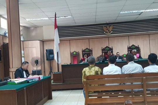 Jaksa bacakan dakwaan untuk PPK Koja dan Cilincing