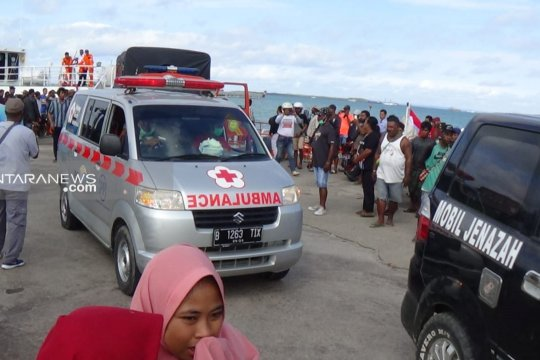 Empat jenazah korban kapal tenggelam Raja Ampat dievakuasi ke Sorong
