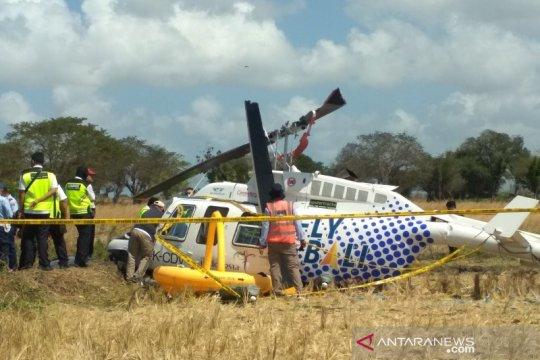 KNKT tuntaskan pengambilan data lapangan helikopter jatuh di Lombok