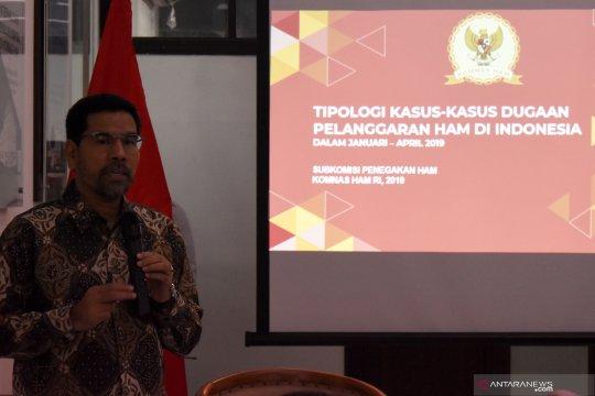 Komnas HAM: Empat isu penting selama Januari-April 2019