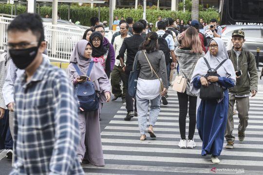Jumlah penduduk miskin Indonesia turun