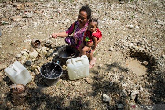Kesulitan air bersih di Sragen
