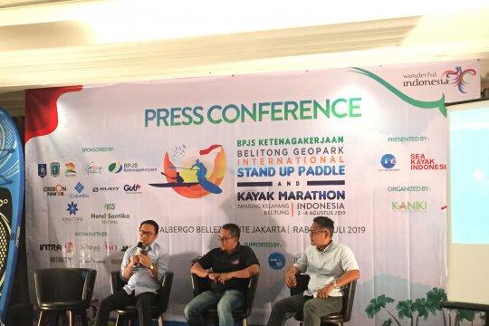Lomba Paddle dan kayak marathon akan digelar di Belitung