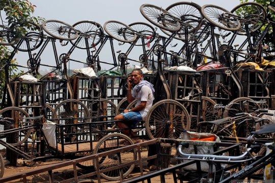 Becak khas India
