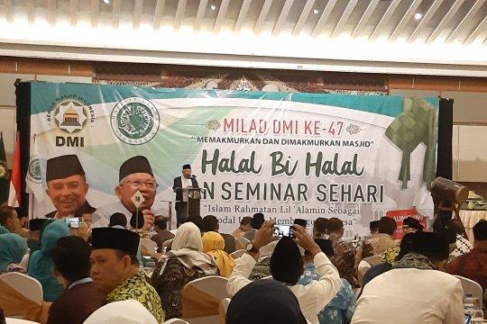 Maruf Amin tegaskan Islam rahmatan lil alamin adalah Islam moderat