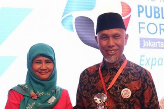 Puskesmas Padang Pasir terima penghargaan Ramah Anak
