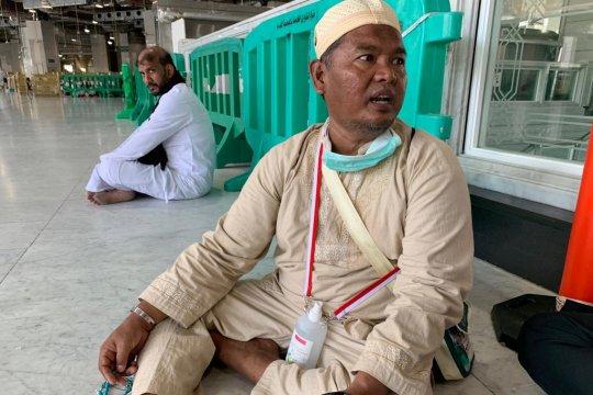 Calhaj asal Pekanbaru terbantu layanan Bus Shalawat ke Masjidil Haram