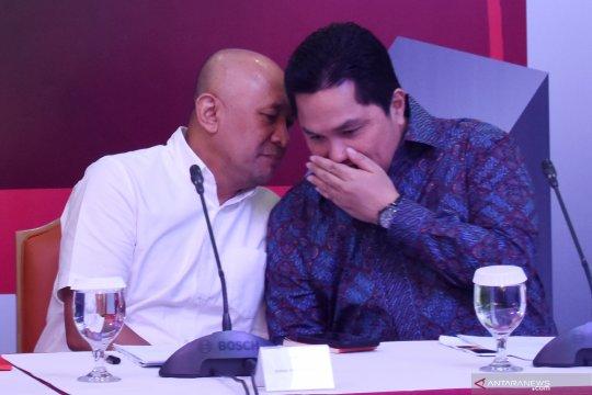Erick Thohir tidak pernah diajak bahas kabinet dengan Jokowi