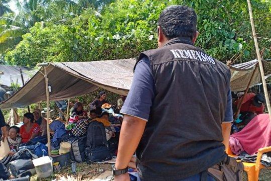 Sembilan desa terdampak gempa Halsel terima bantuan Kemensos