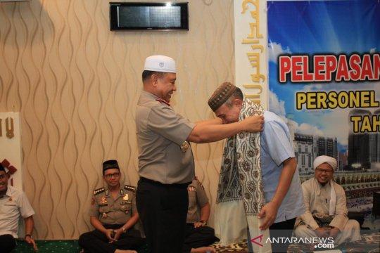 28 personel Polda Kalsel naik haji