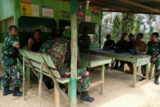 70 personil TNI didatangkan ke Kapuas Hulu terkait karhutla