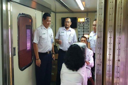 Kereta api kesehatan Sumut layani masyarakat di Dolok Merangir
