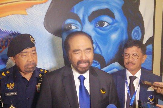 Surya Paloh belum sodorkan nama menteri ke Jokowi