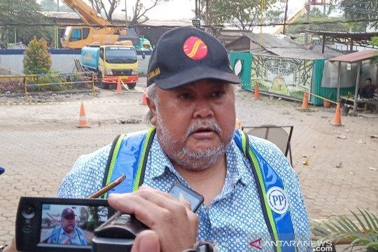 PT MSJ beberkan penyebab tumpahnya coran tiang pancang tol