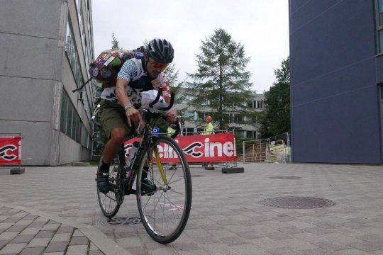 Kejuaraan dunia kurir 2019 sepeda ajang promosi produk lokal