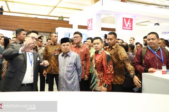 Jusuf Kalla: Kota Cerdas perlu kepala daerah dan masyarakat pintar