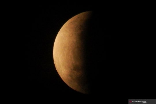 Fenomena gerhana bulan sebagian