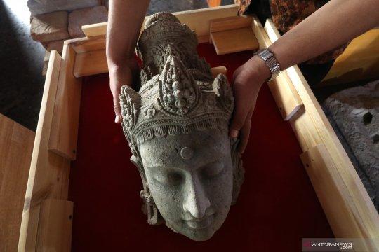 Penemuan arca Bodhisatwa peninggalan Kerajaan Kediri