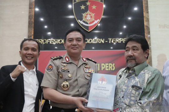 Hasil investigasi TGPF kasus Novel Baswedan