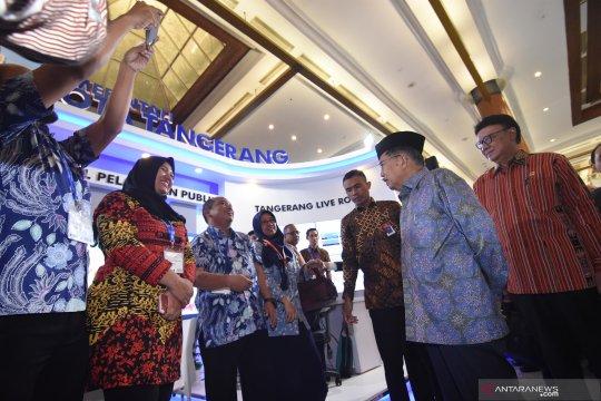 Wapres buka pameran internasional Kota Cerdas Indonesia