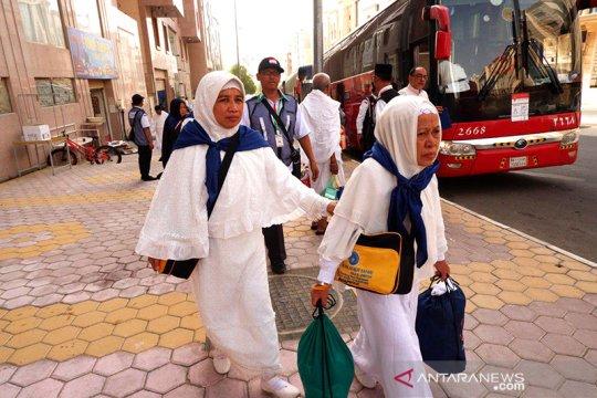 Lima kloter jamaah Embarkasi Makassar sudah tiba di Mekkah