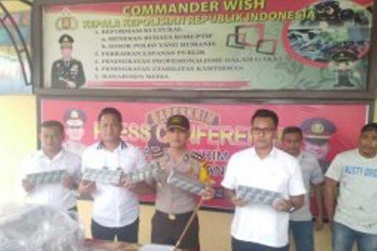 Polres amankan rokok tanpa cukai dari perbatasan Jambi-Riau