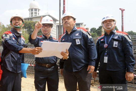Proyek renovasi Masjid Istiqlal