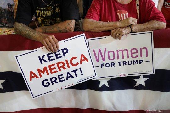 Trump kampanye pilpres di North Carolina