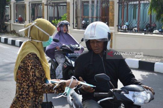 2.500 masker dibagikan untuk cegah dampak kabut asap Aceh Barat