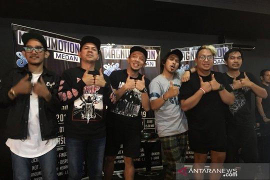 Slank dan band-band Medan akan manggung dalam Magnumotion 2019