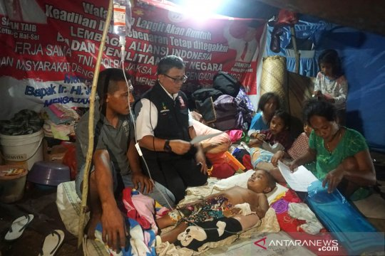 Bantuan untuk korban gempa Halmahera