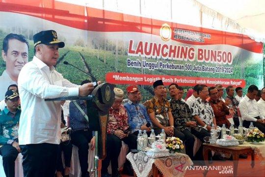 Gubernur: Program  benih  500 juta batang  di Kalteng sudah tepat
