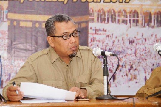 Baru tujuh kloter visa paspor calhaj Aceh yang diterbitkan