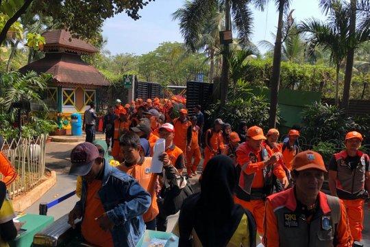 Liburan gratis petugas PPSU di Ancol