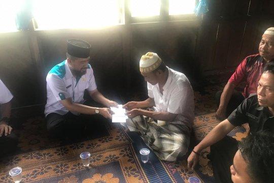 Pejabat Pemkab OKI datangi keluarga korban bentrok Mesuji