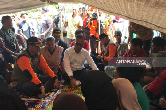 Penyaluran bantuan gempa Halmahera Selatan terhambat sulitnya akses