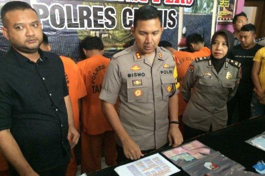 Polisi tangkap komplotan pembobol ATM di Ciamis Jabar