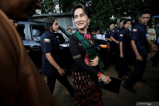 Suu Kyi bersumpah menangi pemilu Myanmar pada November