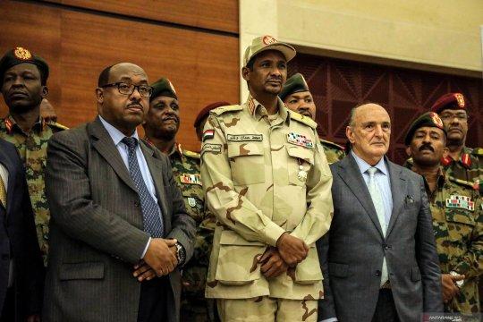 Sudan tahan sembilan prajurit pascapengunjuk rasa tewas