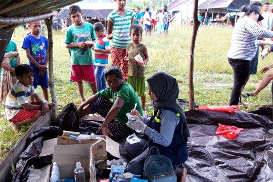 Pengungsi gempa Halmahera Selatan capai 54.789 jiwa