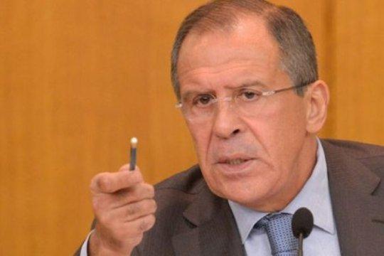 lavrov kecam kebungkaman mengenai kehadiran pelaku teror di Idlib