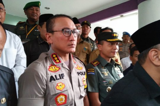 Polresta Tangerang menembak dua pengedar sabu-sabu