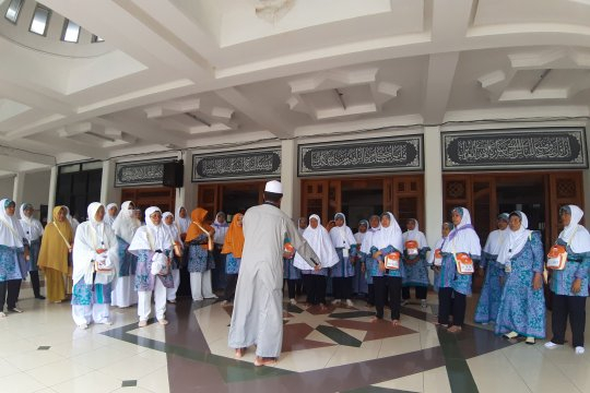 Asrama Haji Pondok Gede hari ini berangkatkan 769 calon haji