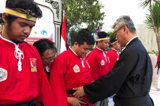KBRI promosikan pencak silat di Negeri Para Nabi