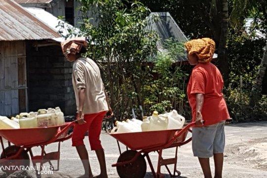Krisis air mulai landa belasan desa di Sumba Timur