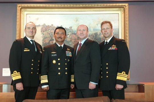 Kepala Staf Angkatan Laut bahas kerja sama maritim Indonesia-Australia