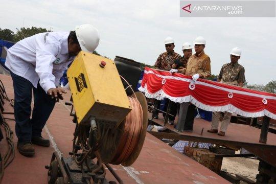 PT Dok dan IKI optimistis kapal Pelindo I rampung sesuai target