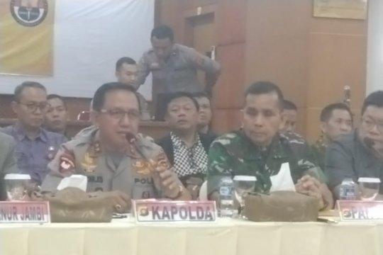 Pangdam II sesalkan tindakan anarkis SMB terhadap Satgas Karhutla
