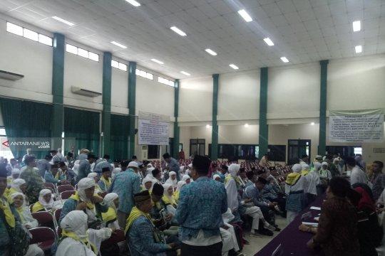 Embarkasi Palembang tuntaskan pemberangkatan 5.825 calon haji